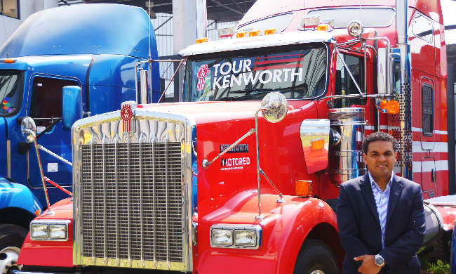 Christopher Stucchi, Gerente de Negocio de Kenworth en Motored