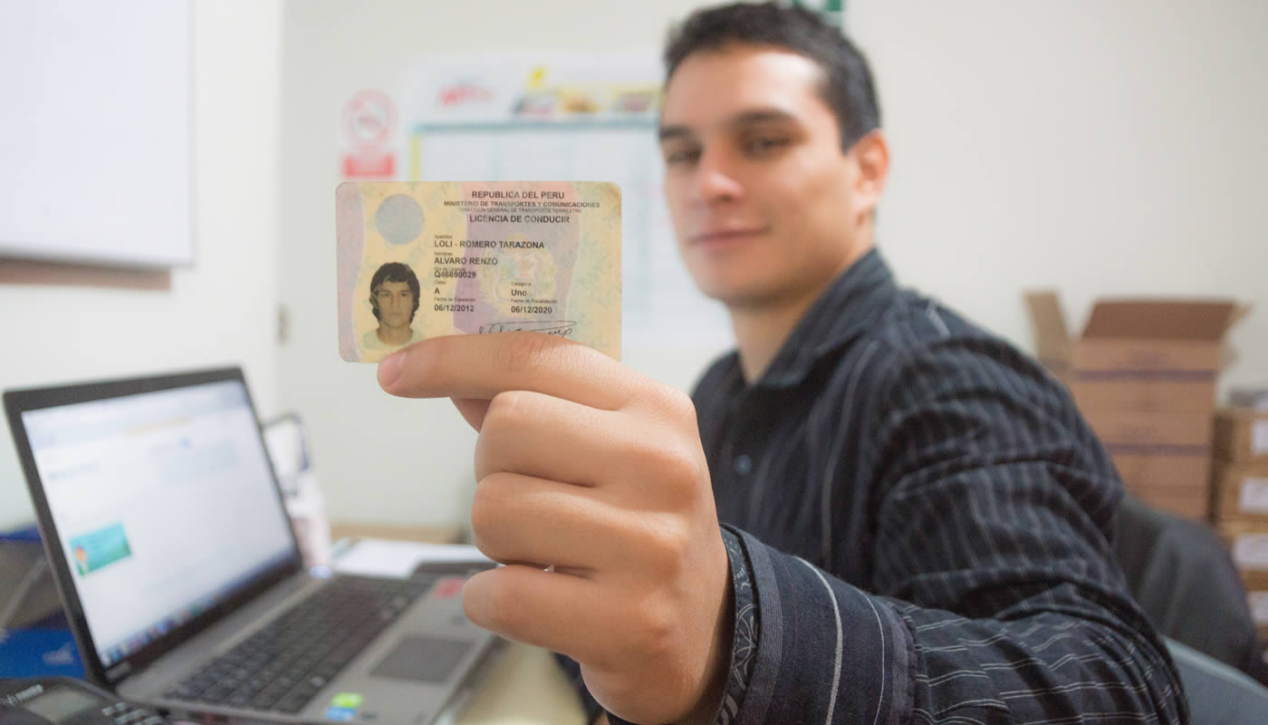 licencia moto