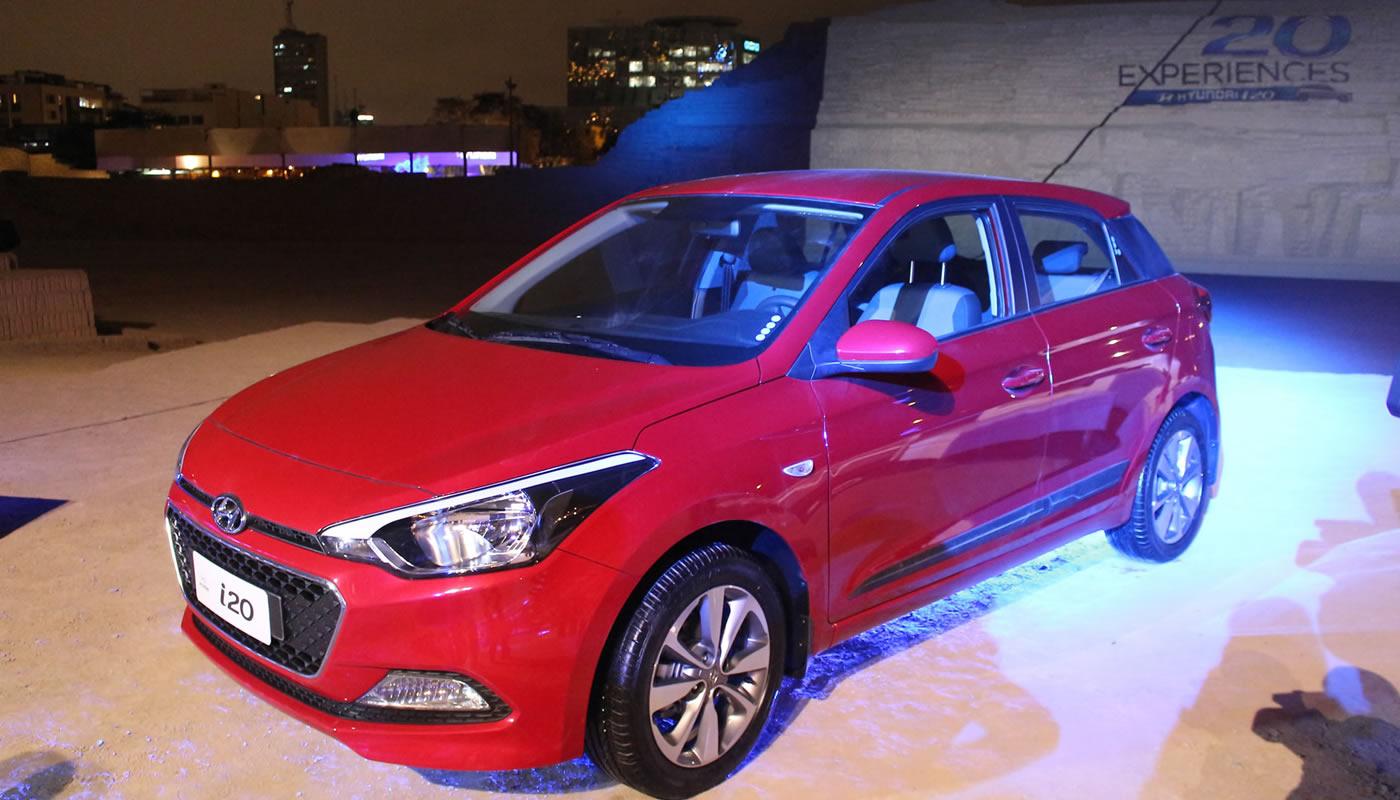Hyundai presenta su nuevo modelo i20