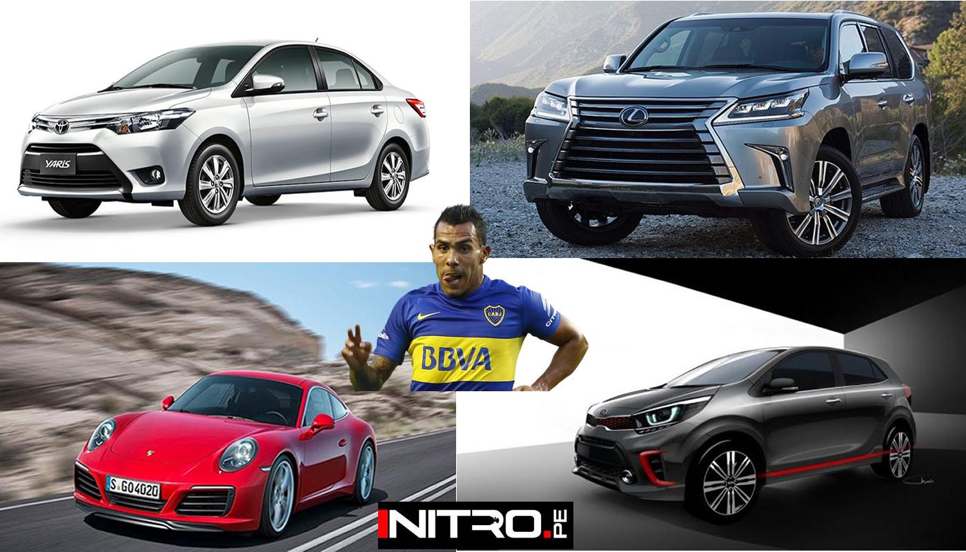 Autos De Toda Gama Podran Ser Adquiridos Por Carlos Tevez Nitro Pe