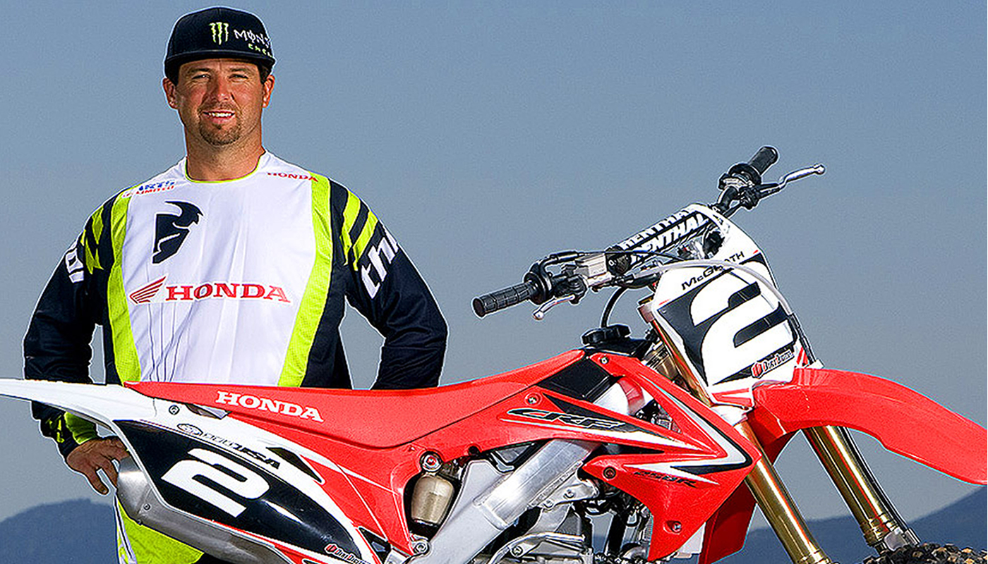 Jeremy McGrath es el rey del supercross