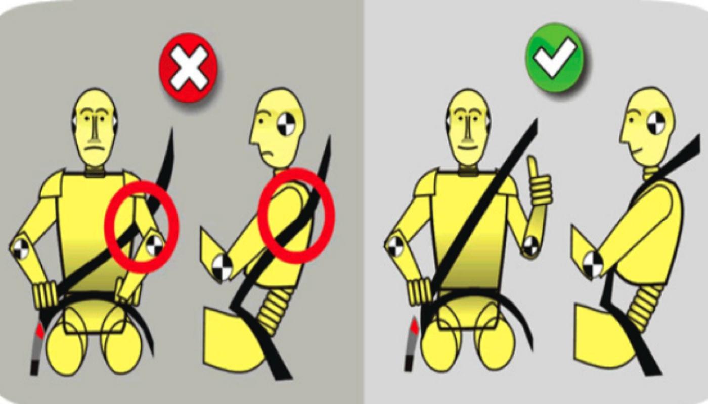 A Usar Correctamente El Cinturón De Seguridad -