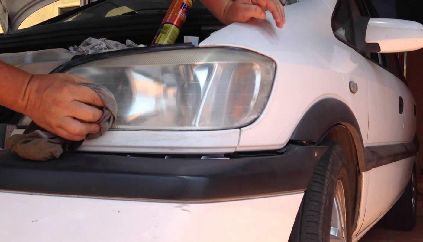 Cómo Eliminar El Amarillo De Los Faros Del Auto