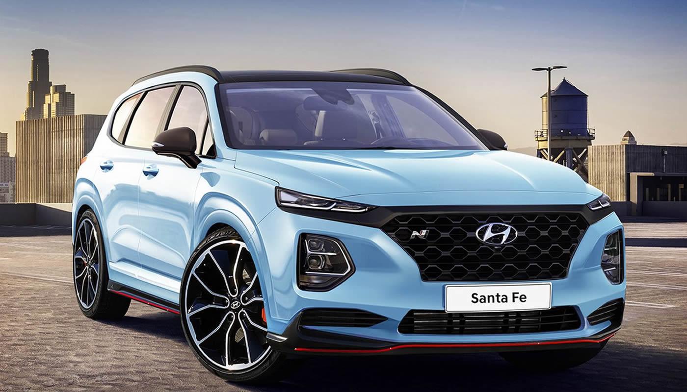 La Nueva Hyundai Santa Fe 2019 Llegar 225 En 7 Versiones Al
