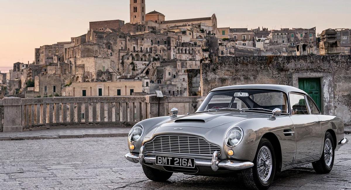 James Bond: Este es el Aston Martin que se roba todas las miradas